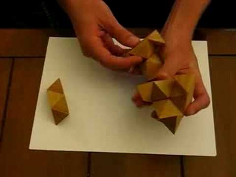 How To Solve A Wooden Star Puzzle