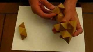 How-to Solve A Wooden Star Puzzle