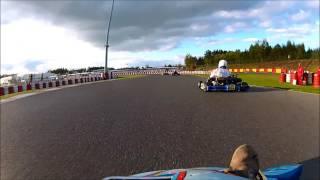 290ccm HV Wankel Kart vs 650ccm Rübig Motor Wackersdorf (Kart-Trophy Weiß-Blau 2012 ) Camera Kart