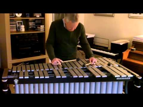 Yesterday by Paul McCartney - Solo Vibraphone - Ed Saindon