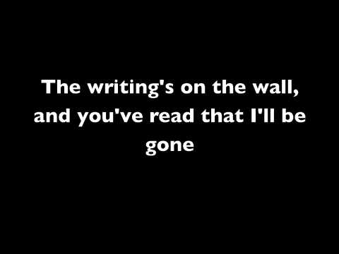 You Should've Killed Me When You Had the Chance Lyrics- A Day to Remember