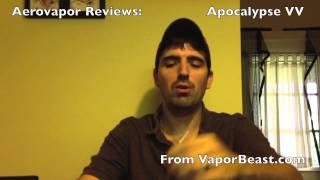 Aerovapor Reviews: The Apocalypse VV (Powerpack) kit from VaporBeast.com