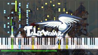 """테일즈위버(Tales Weaver) OST """"세컨드 런(Second Run)"""" [MIDI] (Synthesia)"""