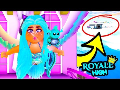 I FOUND THE SECRET SKY CASTLE In Royale High! NEW UPDATE! Royale High School | Roblox Roleplay