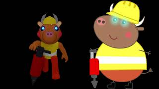 Peppa Pig Characters, But They are Infected