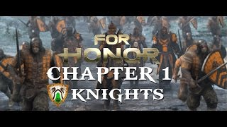 For Honor - Chapter 1. Knights (Full movie 21:9 Ultrawide at 60fps) [Game Movie]