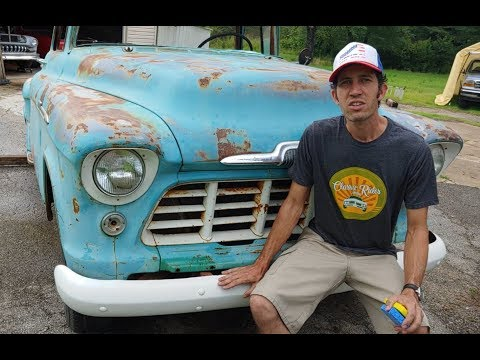 1956 Chevy Pickup Barn Find