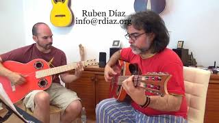 Whole tone chord structures in Tangos 2/ Learn Paco de Lucia (online lessons Skype Ruben Diaz Spain)