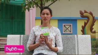 Mẹ Hà Nội khoe BigBB Plus dứt ho, sổ mũi cho con