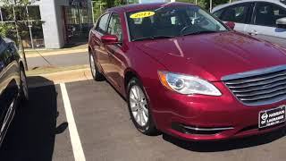 2014 Chrysler 200 Review For Erica