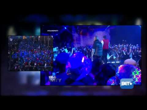 August Alsina and Trey Songz Performs at the 2014 106 & Party