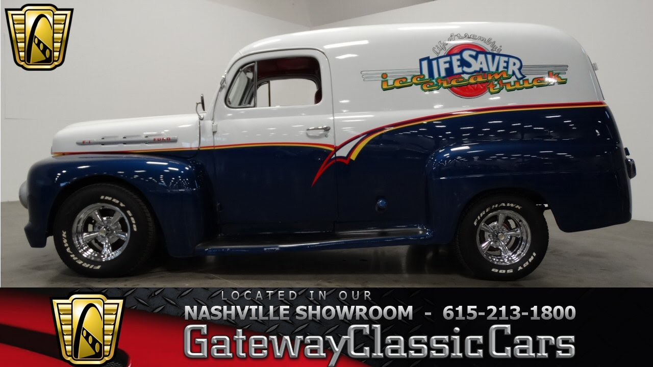 1952 Ford Panel Truck 201 Gateway Classic Cars Nashville