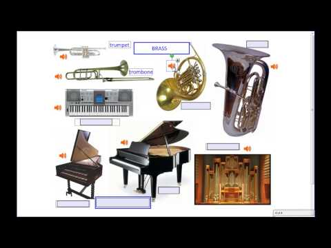Musical Instruments, Part 2 of 2