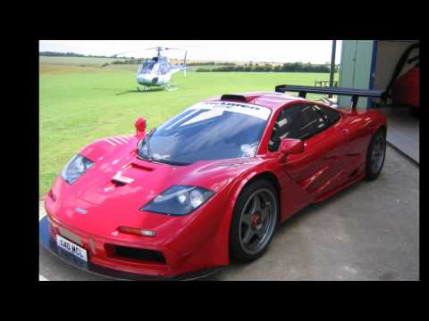 Nick Mason (Pink Floyd Drummer) Car Collection (Daytona LM, 250GTO, 512BBLM F1 and others)