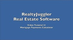 31 - Mortgage Payments Calculator