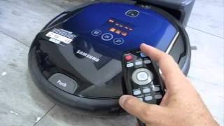 Samsung 8950 Navibot - Basic Operation