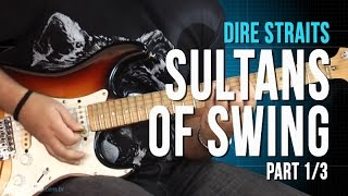 Dire Straits - Sultans Of Swing - Part 1/3 (como tocar - aula de guitarra)