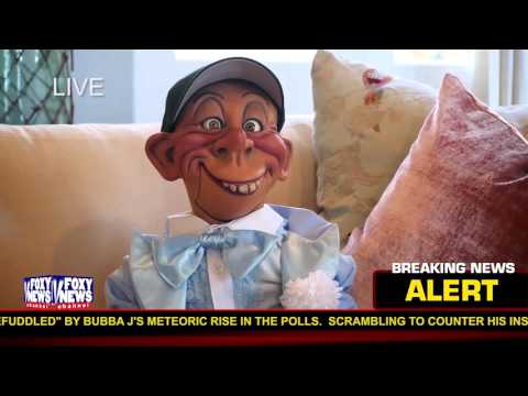 """""""Guess who has his eye on the White House?""""   JEFF DUNHAM"""