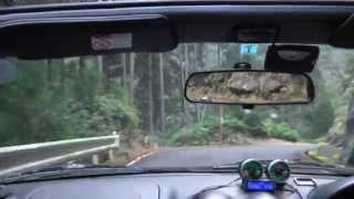 三重県道760号線(魚跳渓)から分岐路→行き止まり舗装林道
