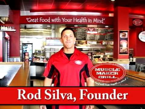 MUSCLE MAKER GRILL FOUNDER ROD SILVA 2009 TV Commercial by Greenrose Media