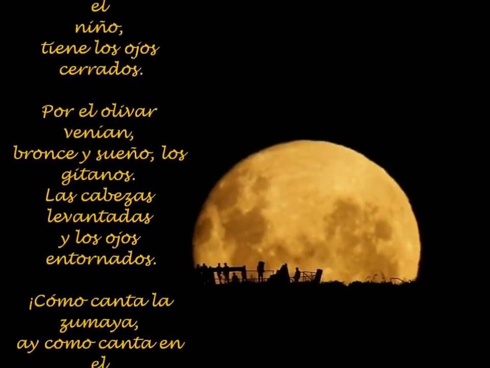 Tves 5 De Junio Natalicio De Federico García Lorca Poema Romance De La Luna