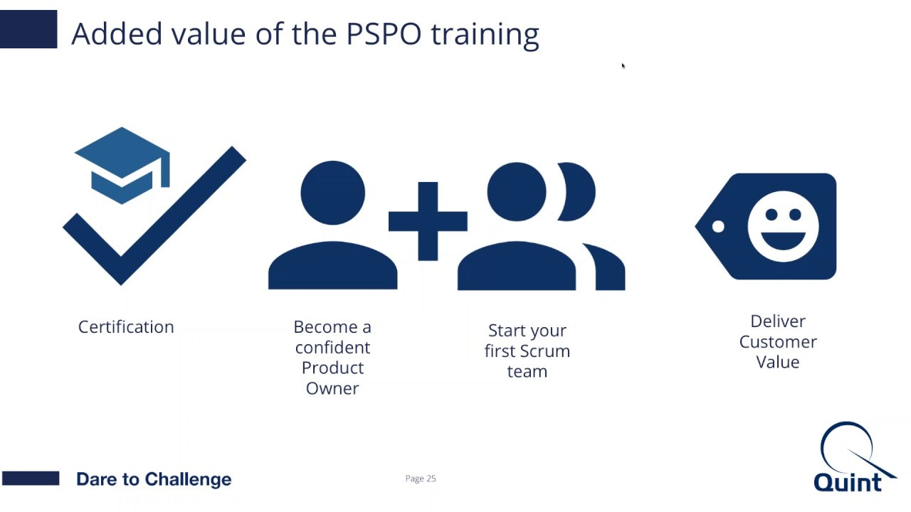Video Professional Scrum Product Owner Training Certification