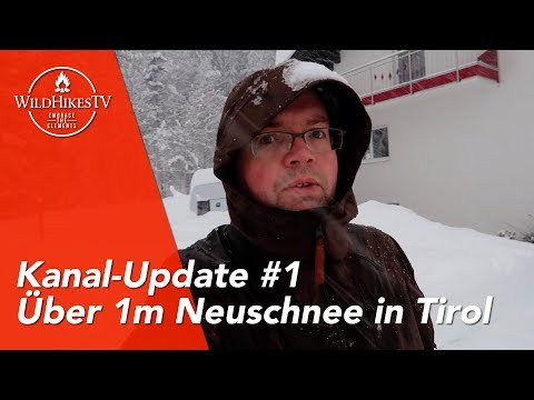 Über 1m Neuschnee in Tirol ☃️ Schneechaos 2019 in Österreich