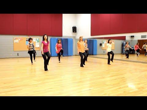 Just A Pretty Girl - Line Dance (Dance & Teach in English & 中文)