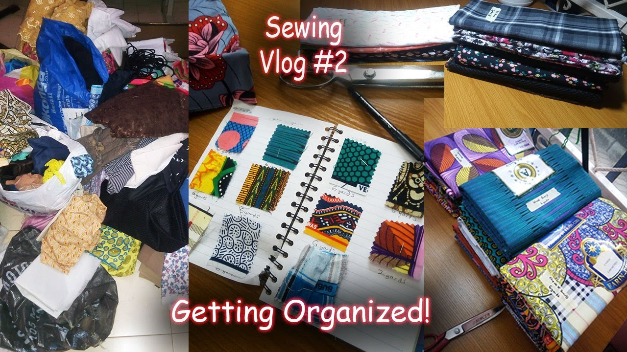 Wardrobe diary - Sewing Plans and Organising my Fabric Stash |Vlog #2| Alex Marie