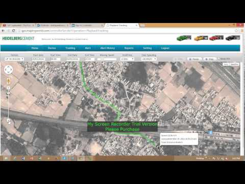 Playback Video Vehicle ALPL 6294 date 29th march 14