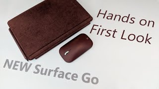 I show the new Microsoft Surface Go. I compare it to the Surface Pr...