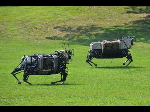 "Робот ""Boston Dynamics"" спасатель!  Озвучка! (много мата)"
