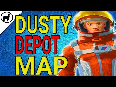 Dusty Depot Treasure Map Location  Battle Pass Weekly Challenges  Fortnite Battle Royale