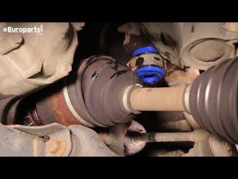 Saab 9-5 Subframe Bushing DIY