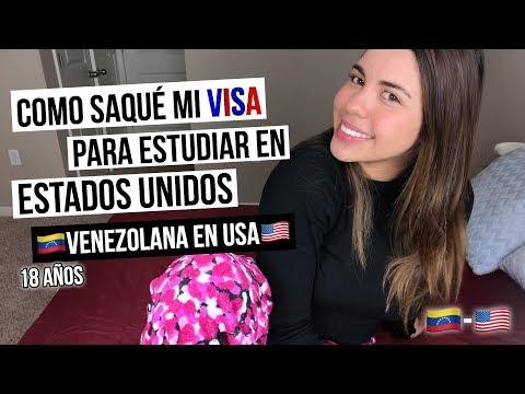 Como saque mi VISA en VENEZUELA para estudiar - Nicolle Principe