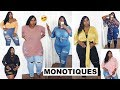 I GOT YALL! THE ULTIMATE FALL DENIM HAUL! MONOTIQUES | PLUS SIZE FASHION