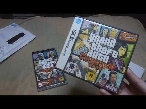 Unboxing (PL) - GTA Chinatown Wars (2009 - NDS)