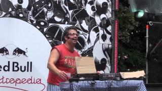 DJ Didjé aux Francofolies de Spa 2012
