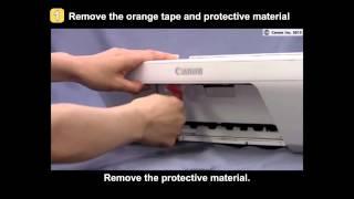 01. PIXMA MG2420/MG2520: Setting up the printer