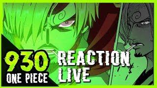 LA VRAIE PUISSANCE DE SANJI SE DÉVOILE ENFIN!  - Reaction live one piece 930
