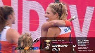 WK 2018 - Nederland - Italië (12-1) - Historische zege!