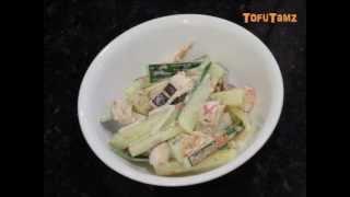 Tako Cucumber Wasabi Salad