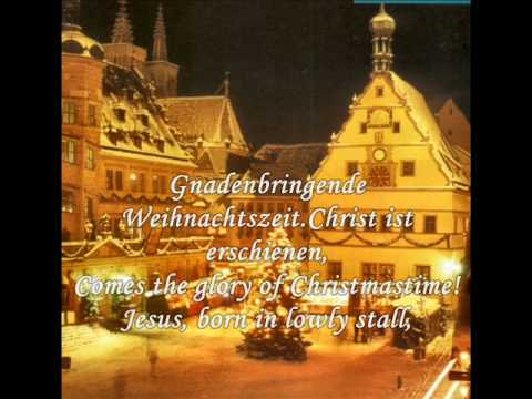 Christmas songs from Germany - O how joyfully (O du fröhliche)