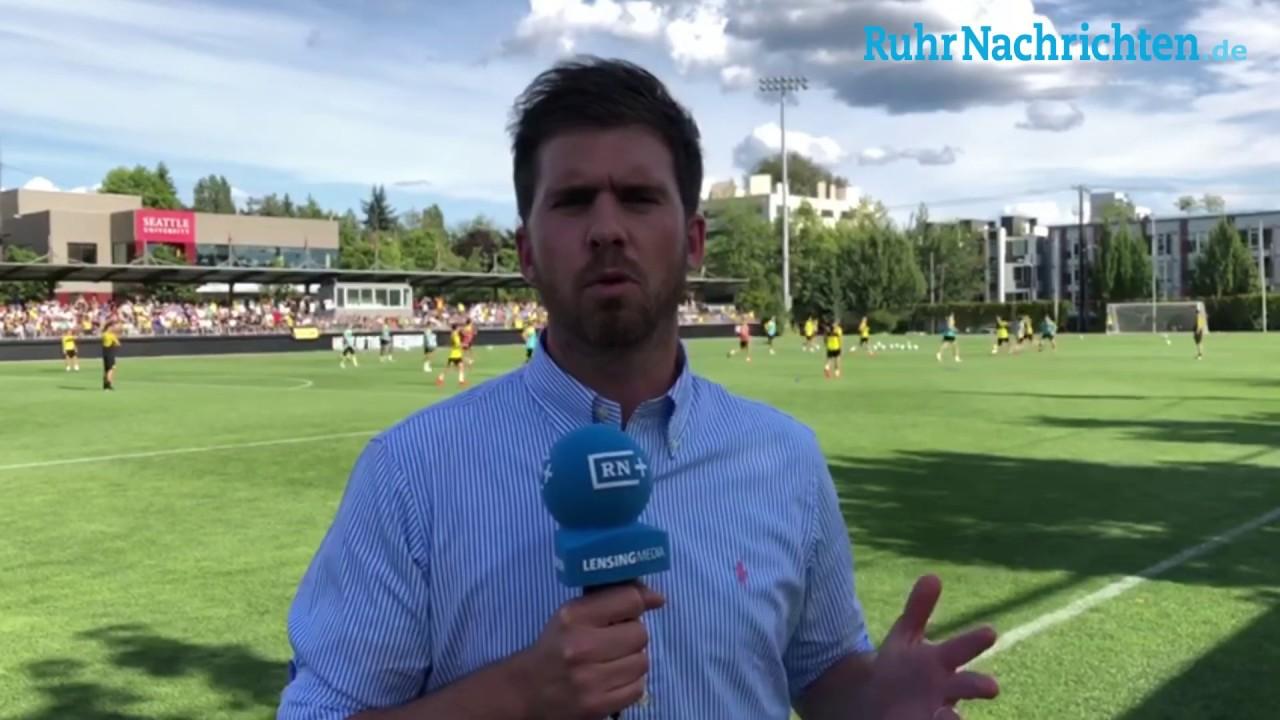 USA-Reise, Tag 2: BVB setzt auf schnelles Spiel über Außen