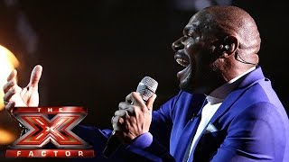 Anton Stephans takes on I Have Nothing | Live Week 3 | The X Factor 2015