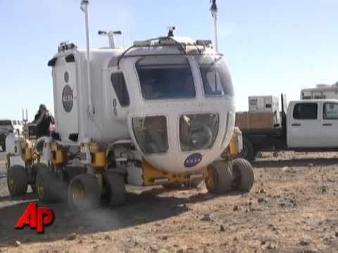 NASA Tests Space Rovers, Robots in AZ Desert
