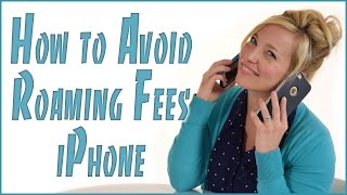 Avoid Data Roaming Fees Cruising - iPhone Edition