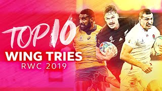 Best Wing Tries from Rugby World Cup 2019 🙌 May, Bridge, Koroibete & More