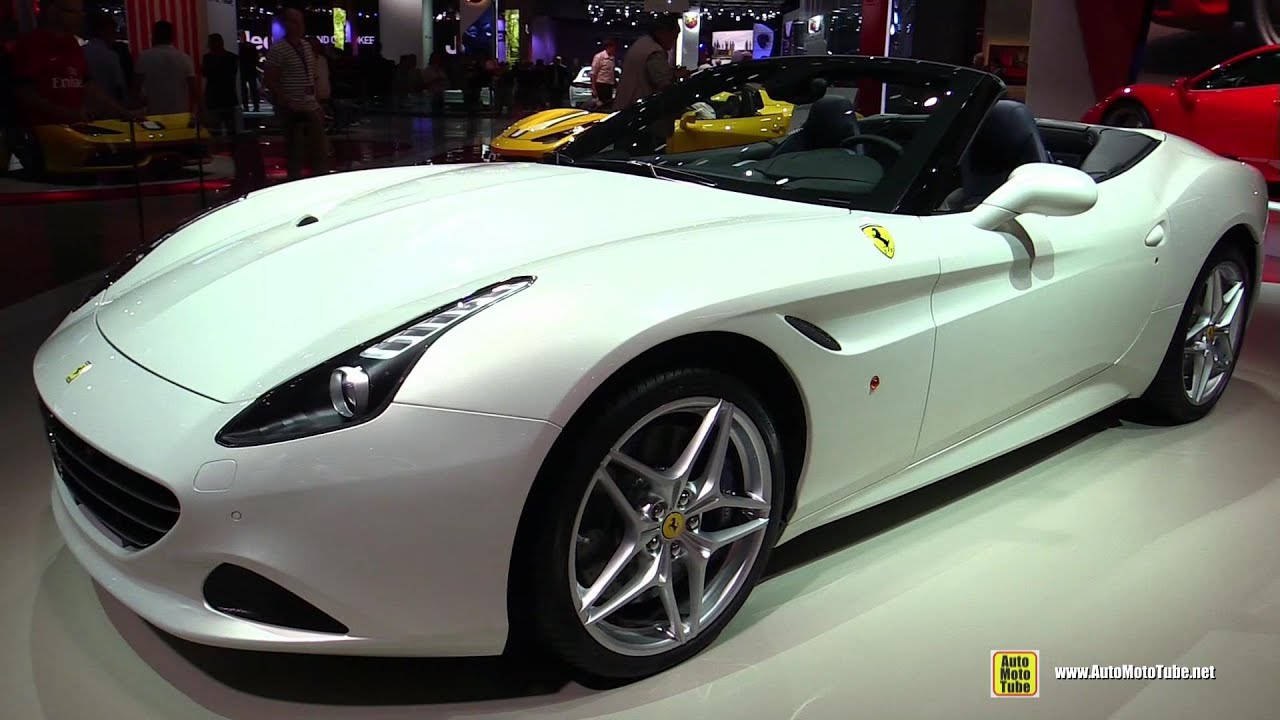 ferrari 2014 white. 2015 ferrari california t convertible exterior and interior walkaround 2014 paris auto show youtube white 1