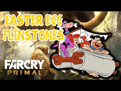 FarCry Primal - EASTER EGG CARRO DOS FLINTSTONES ! =O